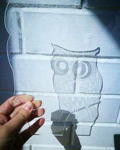 Пластина с любым рисунком для светильников Art-Lamps