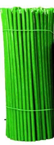 Свеча восковая Зеленая