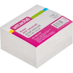 Блок для записей Attache 90x90x45 мм белый (плотность 80-100 г/кв.м)