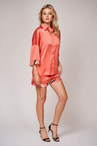 Пижама 60462 коралловый Laete