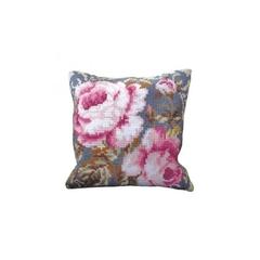 Подушка для вышивания Collection D'Art Розовая роза