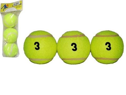 Мяч для б/т (3 шт. в пакете) 3 сорт. для тренировочных пушек и тренировок начинающим.