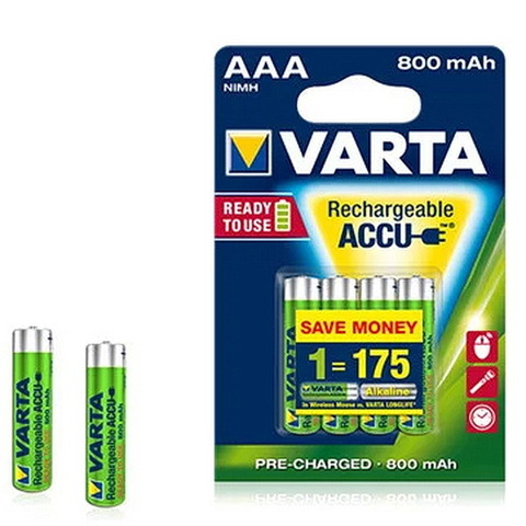Аккумулятор Varta ACCU 5703 (4xHR3) AAA 800mAh