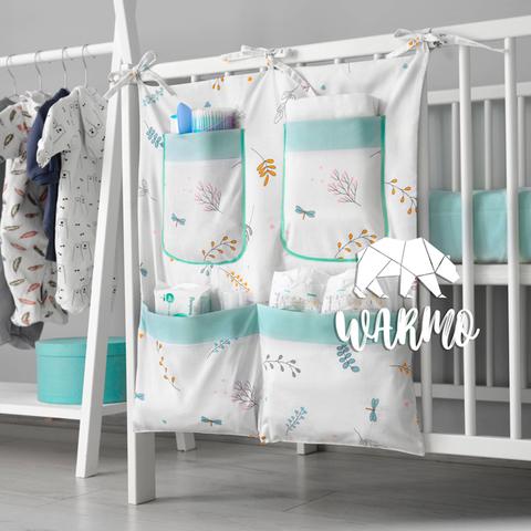 органайзер на ліжечко з весняним малюнком фото