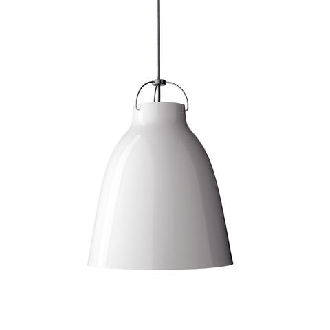 Подвесной светильник копия Caravaggio by Fritz Hansen (D20, белый)