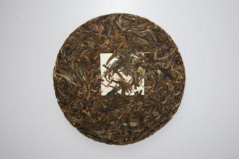 Шэн Пуэр Биндао 2017 год, блин 357 грамм