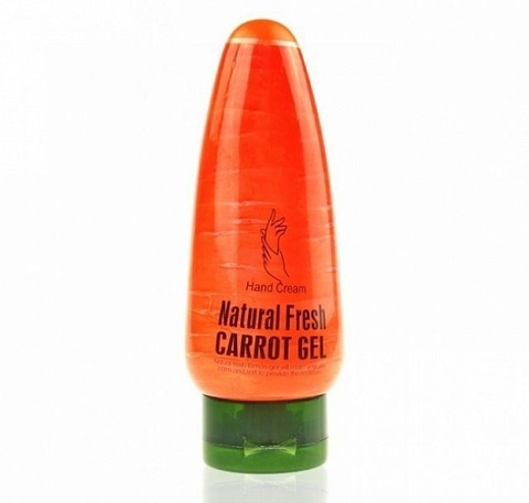 Крем для рук Wokali Natural Fresh Carrot (Морковка), 100 гр