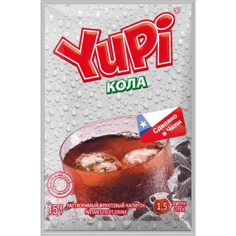 Растворимый напиток Yupi Кола 15гр. (блок 24 шт)