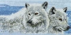 Набор для вышивания DMC Company of wolves