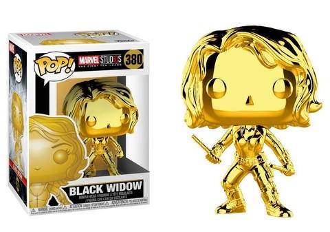 Фигурка Funko POP! Bobble: Marvel: MS 10: Black Widow (Chrome) 33516