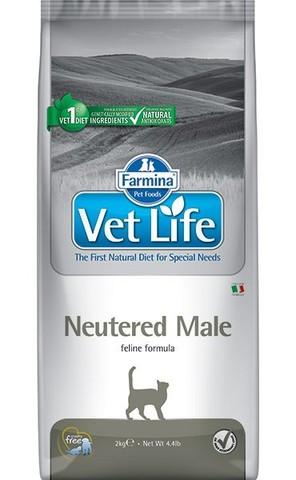 Сухой ветеринарный корм Farmina Vet Life Neutered Male