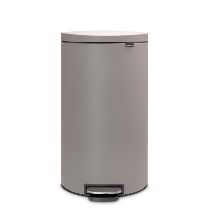 Мусорный бак FlatBack+ (30 л), Минерально-серый, арт. 119569 - фото 1
