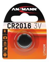 Батарейка литиевая CR2016 ANSMANN 3V