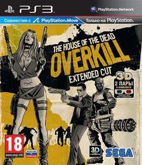 PS3 House of the Dead Overkill Extended Cut (с поддержкой PS Move, русская документация)