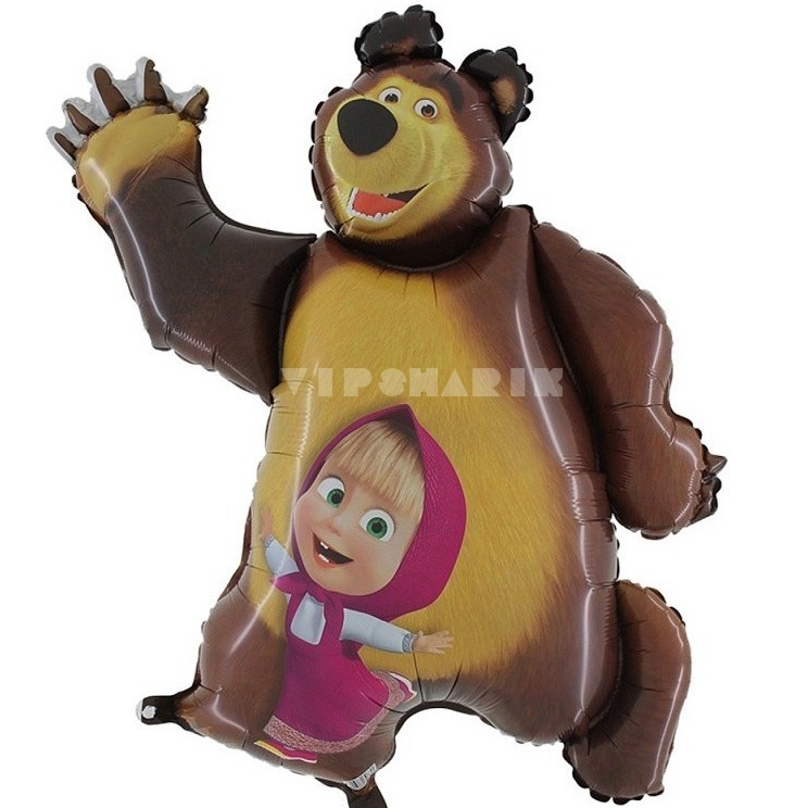 Фигура «Маша и Медведь» 35/89 см
