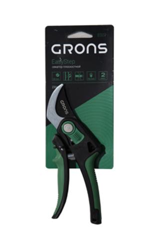 Плоскостной секатор EasyStep Grons E007