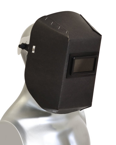 Щиток защитный для эл.сварщиков электрокартон