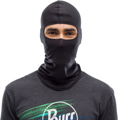 Балаклава шерстяная Buff Balaclava Wool Solid Black