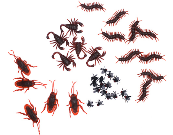 Искусственные насекомые (таракан, муха, сороконожка и др.)