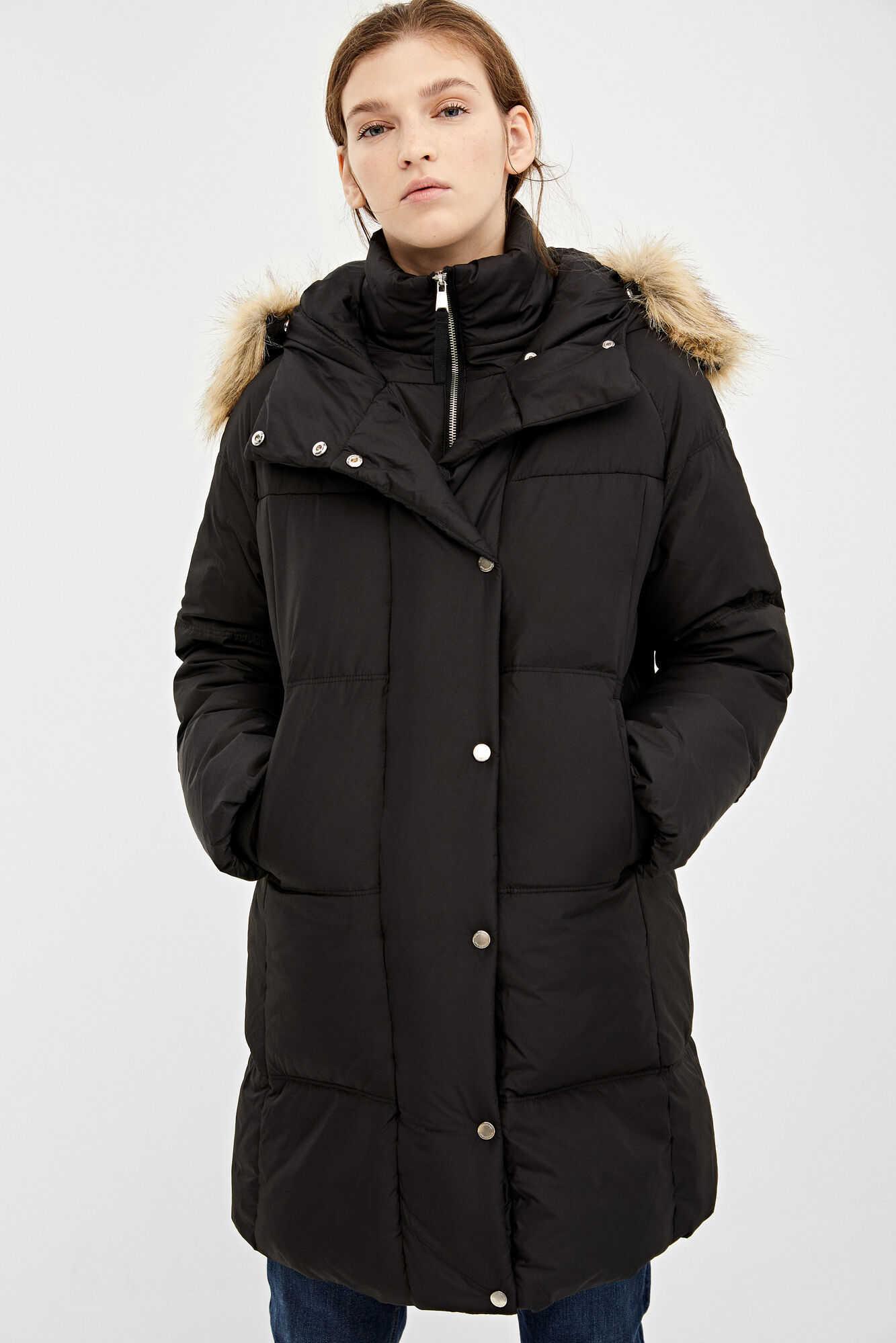 Утеплена куртка з капюшоном
