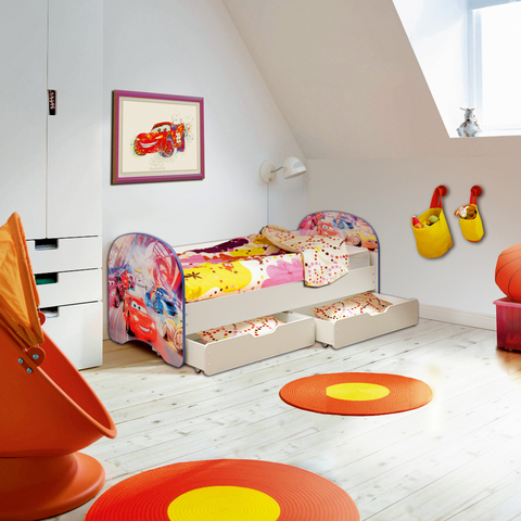 Кровать детская Тачки