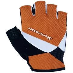 Велоперчатки JAFFSON SCG 46-0199 (оранжевый/белый/чёрный)