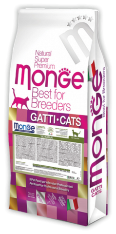 Monge Cat Sensitive для кошек с чувствительным пищеварением 10 кг