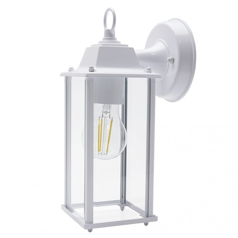 Садово-парковый светильник FERON PL201 E27 белый