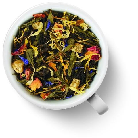 Персидские Ночи 2 Чай Gutenberg ароматизированный зеленый с черным 100 гр.