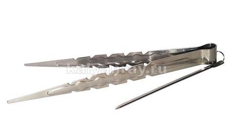 Щипцы для углей острые - 22 см