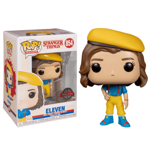 Eleven in yellow Outfit Funko Pop! || Одиннадцатая