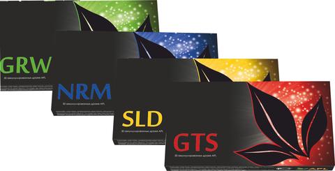 APL. Набор Аккумулированные драже  APLGO GRW NRM SLD GTS для оздоровления суставов, нормализации уровня сахара, повышения энергетики