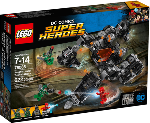 LEGO Super Heroes: Сражение в туннеле 76086 — Knightcrawler Tunnel Attack — Лего Супер Герои ДиСи