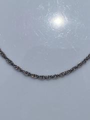 Кордовая 0,2 (серебряная цепочка)