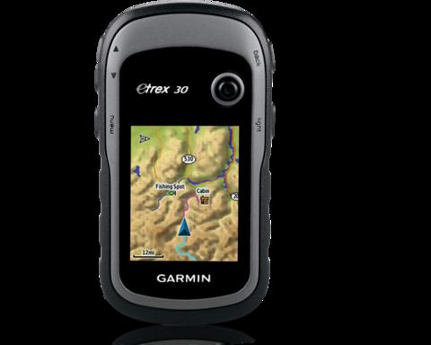 Навигатор eTrex 30x GPS, GLONASS