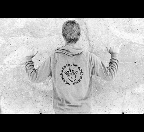 Толстовка SUPERBRAND Voltage Pullover Fleece