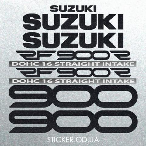 Набор наклеек на мотоцикл Suzuki