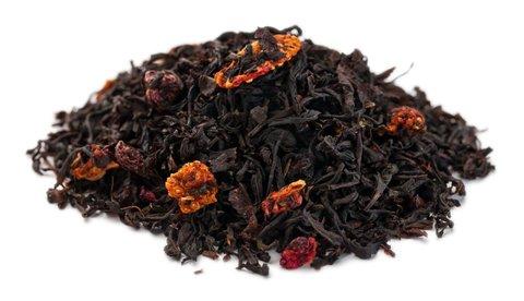 Ягодная смесь Чай Gutenberg черный ароматизированный 100 гр