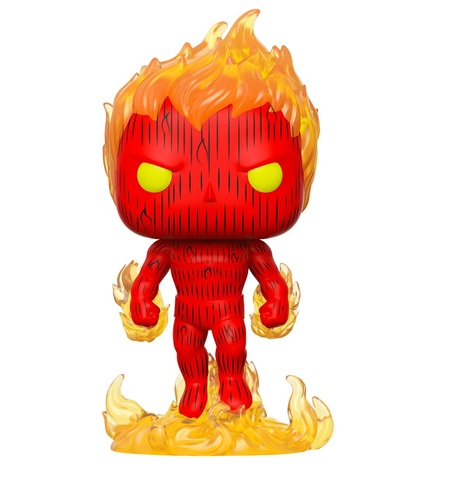 Фигурка Funko POP! Bobble: Marvel: Fantastic Four: Human Torch