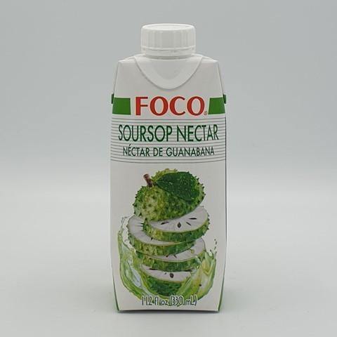 Нектар анноны колючей (гуанабаны) FOCO, 330 мл