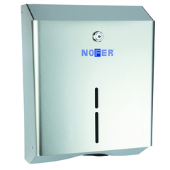 Диспенсер для рулонной бумаги и бумажных полотенец Nofer 04010.S фото