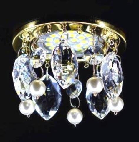 Светильник встраиваемый 3202-8C Хром