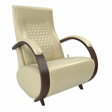 Кресло-глайдер Balance Balance-3 с накладками, орех/Oregon perlamutr 106, 014.003