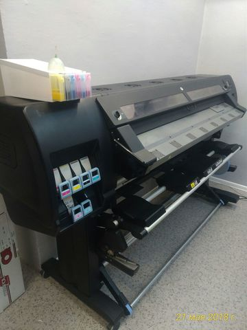 Латексный плоттер HP L26500 c СНПЧ ITSinks