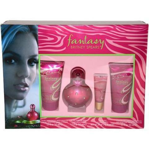 Britney Spears Fantasy Set (EDP 50+50B/C+50S/G+lip gloss)