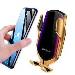 Держатель с беспроводной зарядкой для смартфона R1pro