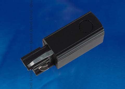 UBX-A02 BLACK 1 POLYBAG Ввод питания для шинопровода. Трехфазный. Левый. Цвет — черный. Упаковка — полиэтиленовый пакет.