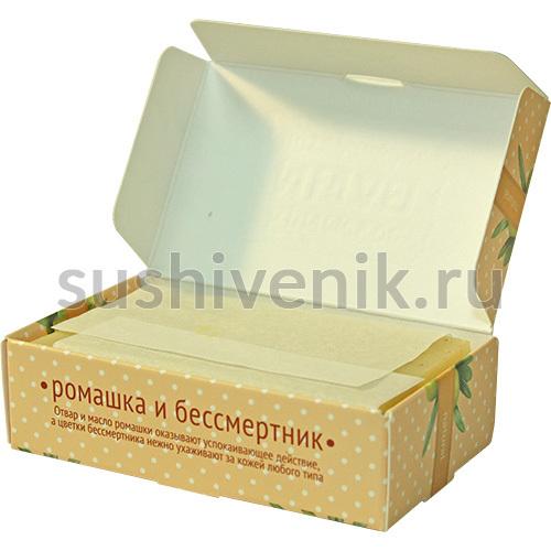 Мыло на основе отвара и масла ромашки лекарственной