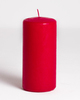 Свеча красная