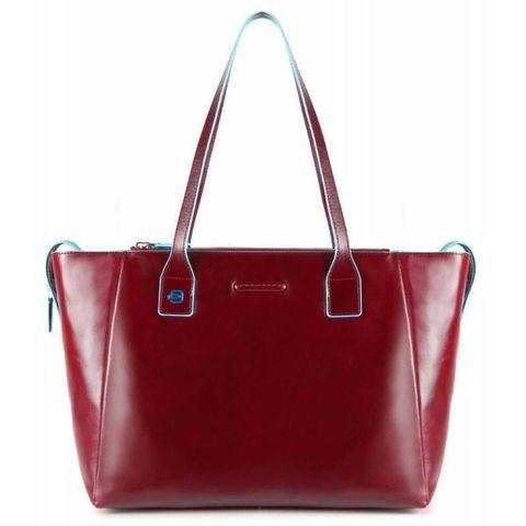 Сумка для покупок женская Piquadro Blue Square (BD3883B2/R) красный кожа
